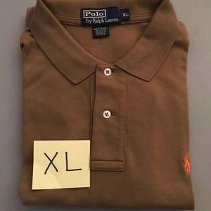 Men's Polo Ralph Lauren Brown Polo sz XL